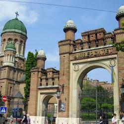 Чернівецький університет-вхід