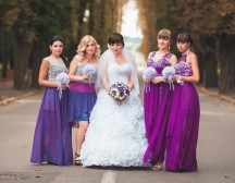 Марсаловая свадьба – тренд сезона